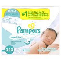 Pampers Baby Wipes Sensitive 5X Refill