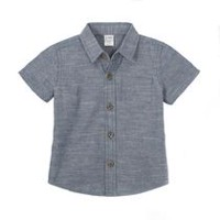 George Infant Boys' Short Sleeve Woven Shirt 3-6 months