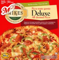 Mikes Deluxe All Dressed Frozen Pizza