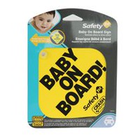 Safety 1st Foam Mom (To Be) on Board / Baby on Board Sign