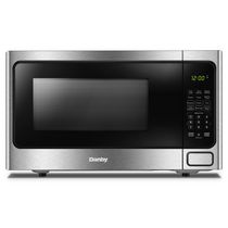Danby Designer DDMW1125BBS 1.1 Cu.Ft. Countertop Microwave With Stainless Steel Front