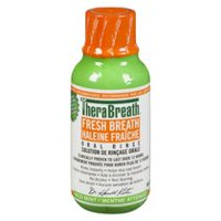 TheraBreath Fresh Breath Mild Mint Oral Rinse Solution