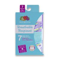 Fruit of the Loom Girls' 7-pack Breathable Hipster 10