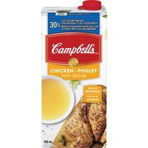 Campbell's 30% Less Sodium Chicken Broth