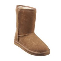 George Women's Micro Suede Booties Chestnut 6