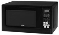 RCA 0.7 cu. ft. Microwave Oven Black