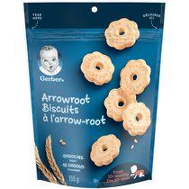 GERBER Arrowroot Biscuits, Baby Snacks
