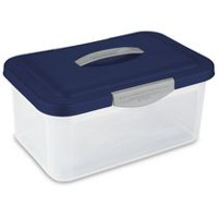 Sterilite Showoffs™ Storage Container- Dk Blue