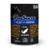 PureSnacks Cod Skin 199g | 7.0oz- Value Size Dog Treats