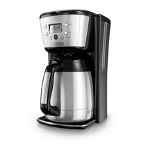 Black + Decker Silver 12-Cup Programmable Thermal Coffee Maker