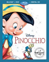 Pinocchio (Blu-Ray + DVD + Digital HD)