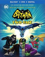 Batman vs. Two-Face (Blu-ray + DVD + Digital) (Bilingual)