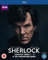 Sherlock: Complete Series 1 - 4 & The Abominable Bride (Blu-ray)
