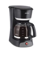 Sunbeam 12 Cup Black Switch Coffee Maker