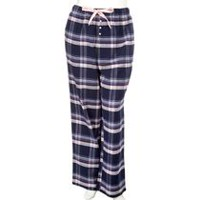 George Plus Women's Cotton Sleep Pants Navy 2X