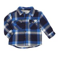 George Toddler Boys' Sherpa Lined Jacket Navy 2T