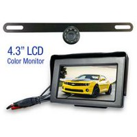 License Plate Wireless Rear View Camera