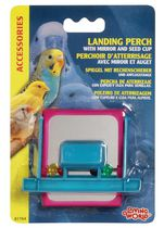 Living World Landing Perch with Mirror