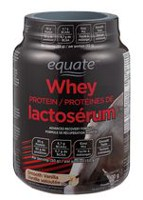 Equate Smooth Vanilla Whey Protein Powder