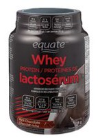 Equate Rich Chocolate Whey Protein Powder