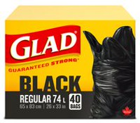Glad Easy-Tie® Garbage Bags- Regular