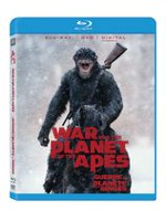 War For Planet Of The Apes (Blu-ray + DVD + Digital HD)(Bilingual)