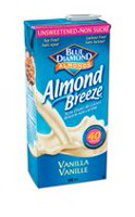 Booisson à saveur de vanille Almond Breeze de Blue Diamond non sucré