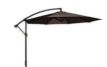 10 Feet Cantilever Umbrella Chocolate
