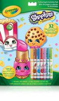 Crayola Shopkins Colouring & Activity Pad