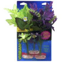 Blue Ribbon Medium Aquarium and Terrarium Floral Variety Pack