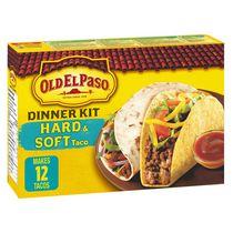 Old El Paso Hard & Soft Taco Dinner Kit