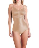 Cupid® Intimates Women's Knit Shapewear Bodybriefer Beige 40D