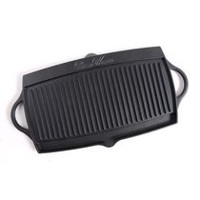 The Pioneer Woman Timeless Cast Iron Pre Seasoned Reversible Grill/Griddle Pan