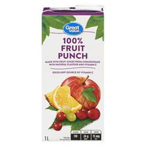 Great Value 100% Fruit Punch