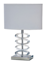 Your zone Acrylic Accent Lamp
