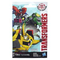 Figurine articulée de la série 5 Tiny Titans Robots in Disguise de Transformers