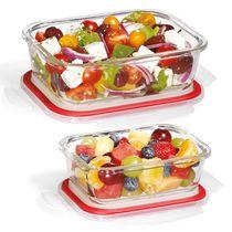 Starfrit LocknLock Glass 4-piece rectangular container set