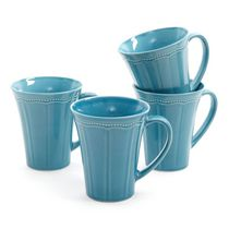 The Pioneer Woman Paige 4-Pack Crackle Glaze Mug Set