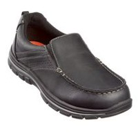 George Men's Slip-On Casual Shoes Black 11