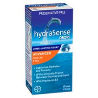 hydraSense® Eye Drops - Advanced for Dry Eyes