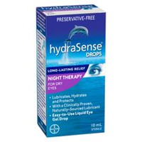 hydraSense® Eye Drops - Night Therapy for Dry Eyes