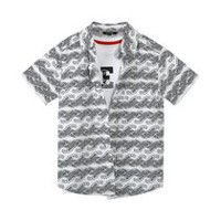 George Boys' Woven Shirt & Tee Set XL