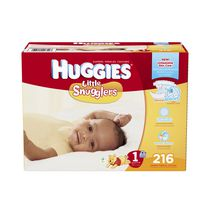 Huggies Little Snugglers Economy Plus Diapers Size 1