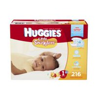 Huggies Couches Little Snugglers Economy Plus Taille 1