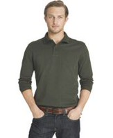 Arrow Men's Glenplaid Jacquard Knit Polo Sweatshirt 2X-Large