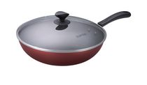 Supor 30 cm Non-Stick Wok with Glass Lid