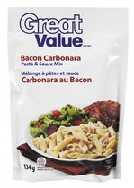 Great Value Carbonara Pasta and Sauce