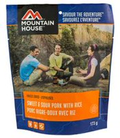 Mountain House Sweet and Sour Pork with Rice Pouch