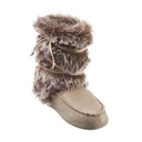 George Women's Slipper Booties Tan 7-8