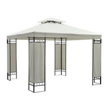 Outsunny 10 X 10ft Double Tier Canopy Top